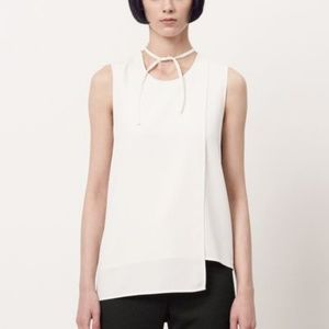 Acne Studios Off White Maela Sable Shirt Blouse
